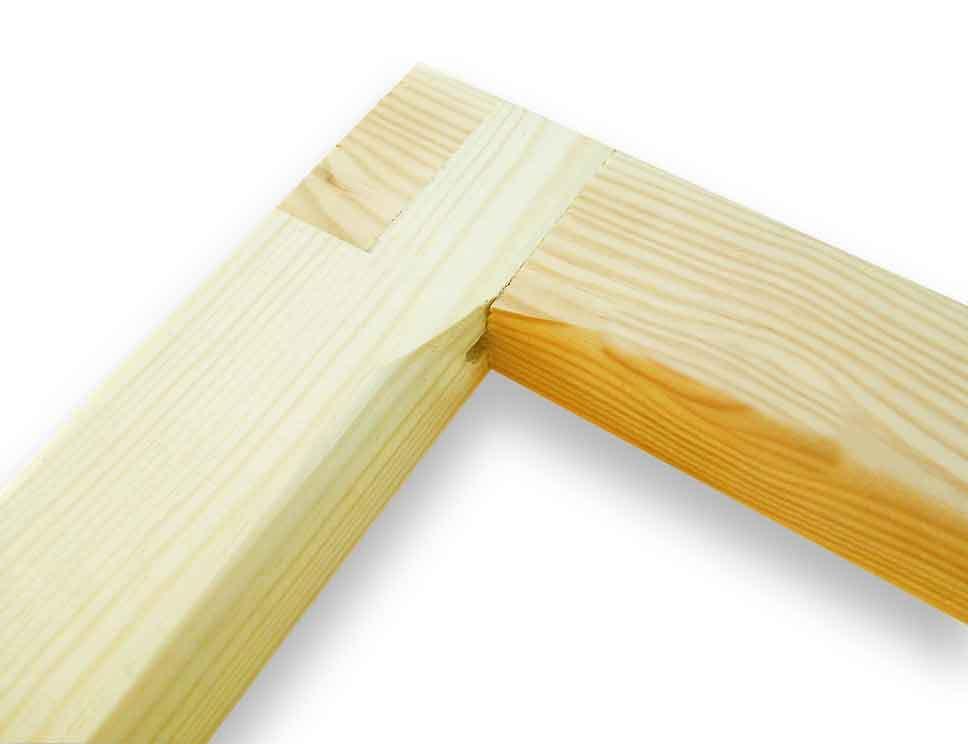 Listones de madera de rf 60x22 de 70 ctms lienzos marfil - Precio listones de madera ...