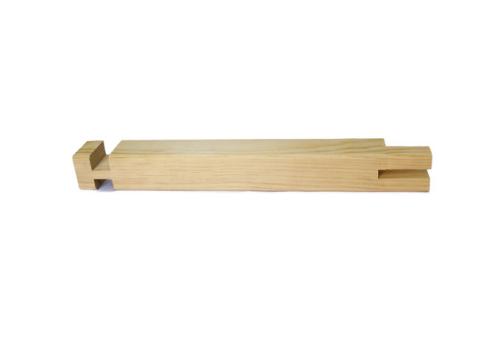 Listones de madera de rf 36x36 de 90 ctms lienzos marfil - Precio listones de madera ...